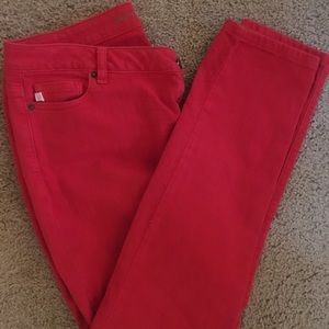 Michael Kors Red Jeans